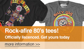 Rock-afire Explosion 80's tees!
